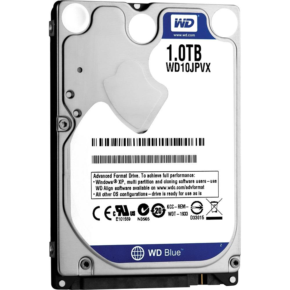 Hd Wd Sata 2.5´ P/ Notebook 1TB 5400 Rpm 8mb Cache WD10JPVX