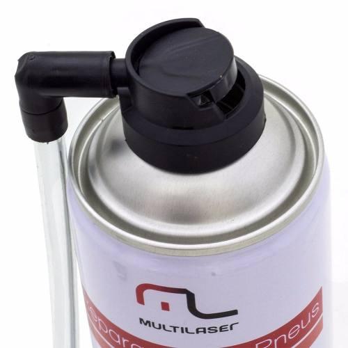 Reparo Fácil Selante Instantâneo Reparador de Pneu Furado 450ml Multilaser AU400