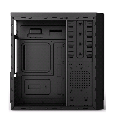 Gabinete Gamer Pc Atx New Snake Cooler Led Vermelho Usb 3.0 Mymax