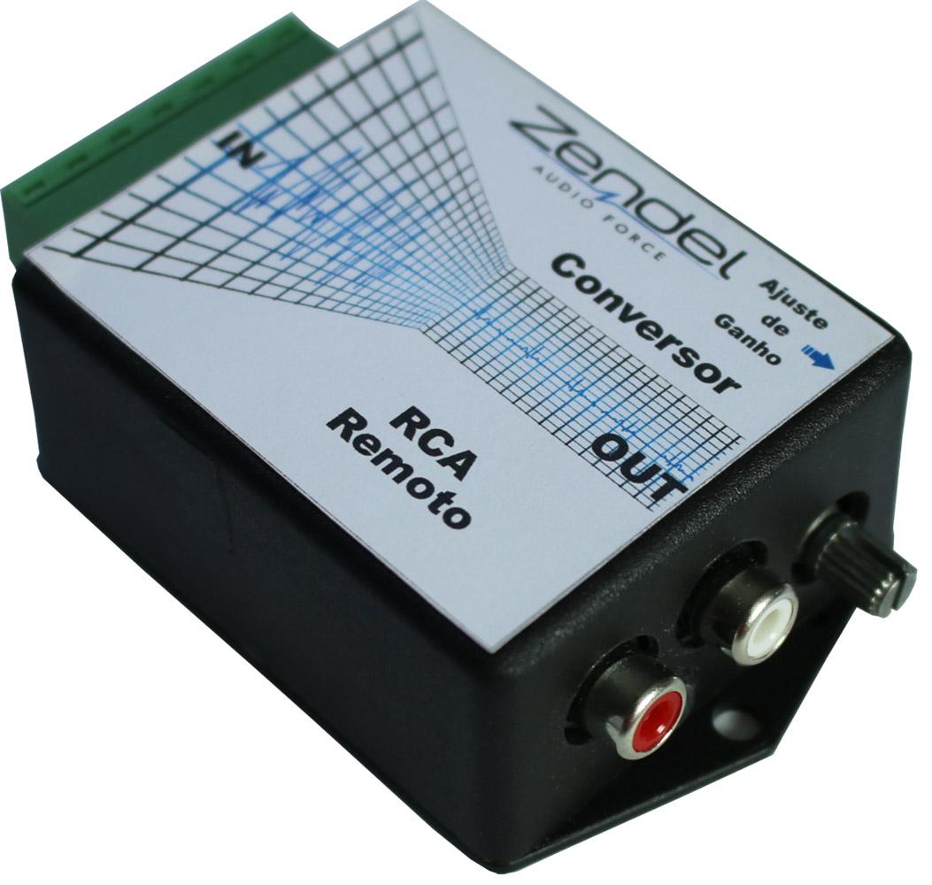 Adaptador Conversor de Fio Para RCA Auxiliar Remoto