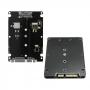 Adaptador Conversor Case de SSD M2 M.2 2280 para SSD Comum SATA 3 2,5
