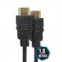 Cabo HDMI 1,80 Metros Versão 2.0 FULL HD 4K 3D READY PRO Eletronic CAHD-2018