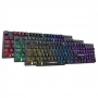Teclado Gamer Rainbow LED RGB Teclas Iluminadas Anti Ghosting KM-5228 KMEX
