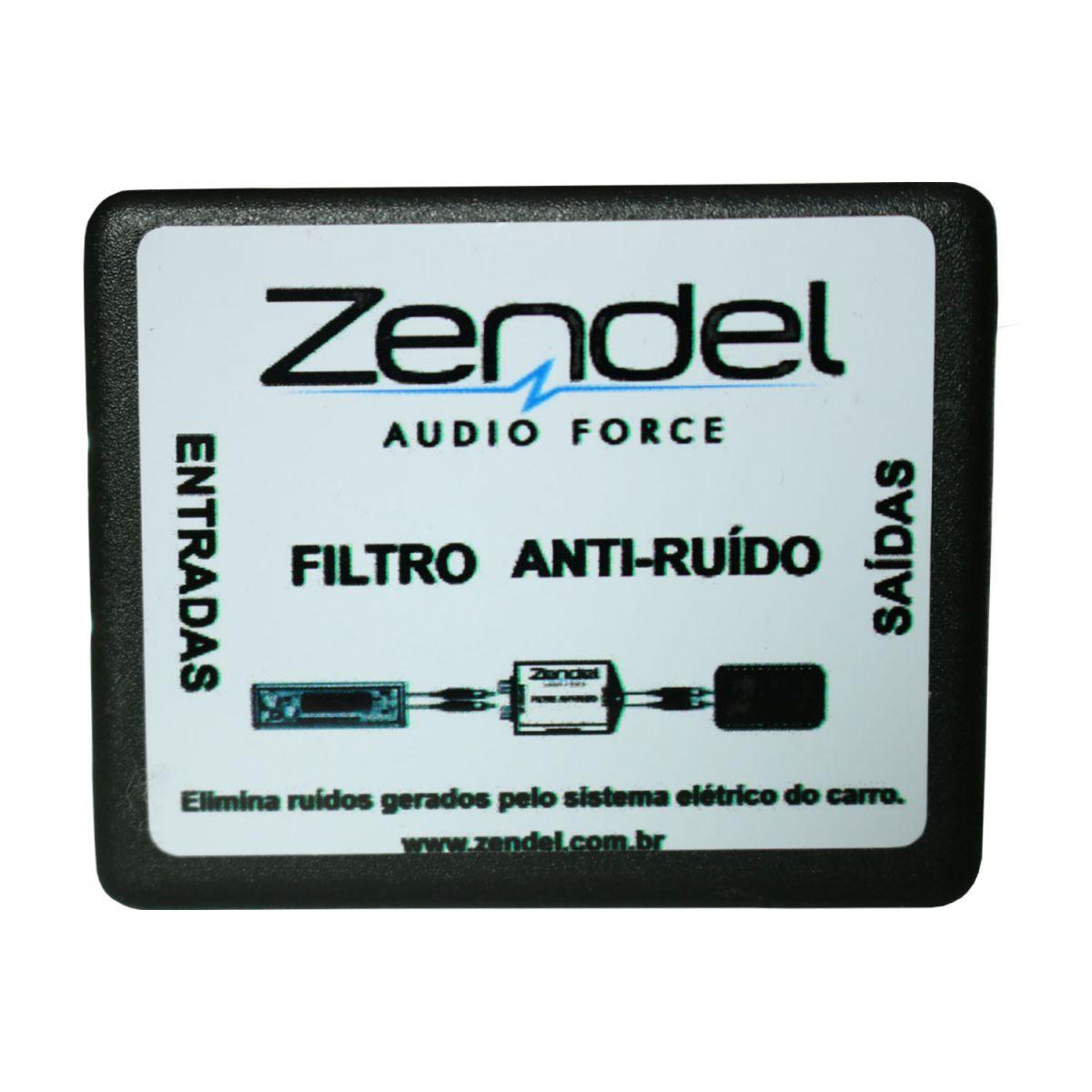 Filtro Anti Ruido 2 Rca Macho P/ Amplificador Som Automotivo