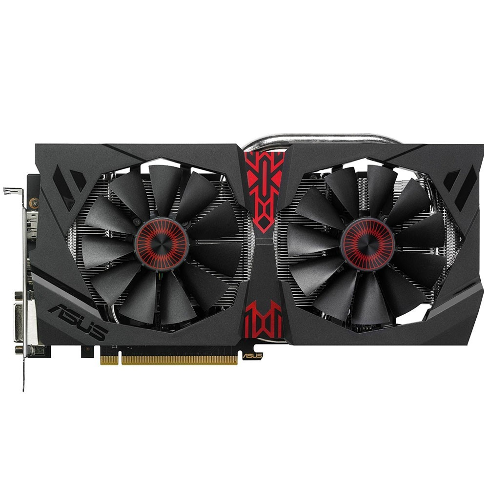 Placa de Vídeo Asus R9 380 4GB Strix Gaming DDR5 256 Bits