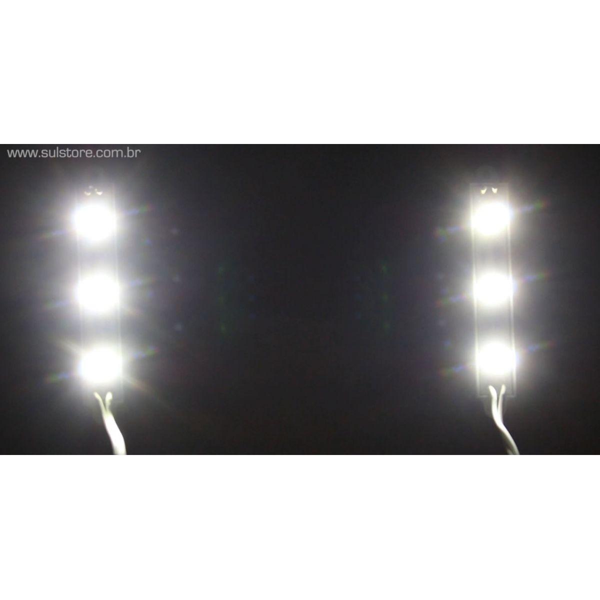 Strobo Led Automotivo 12V - 5 Modos de Iluminação Flash