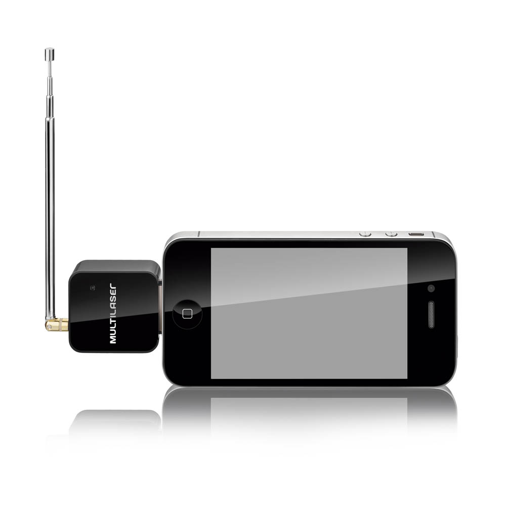Receptor de TV Digital Para Iphone 4 e 4S Ipad e Ipod TV006 Multilaser