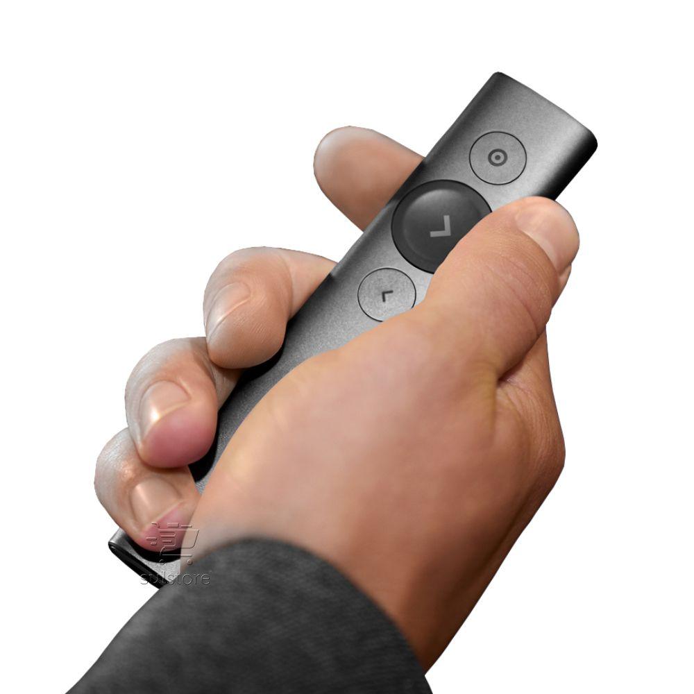 Apresentador Slides Remoto Bluetooth Wifi Logitech Spotlight 30 Metros