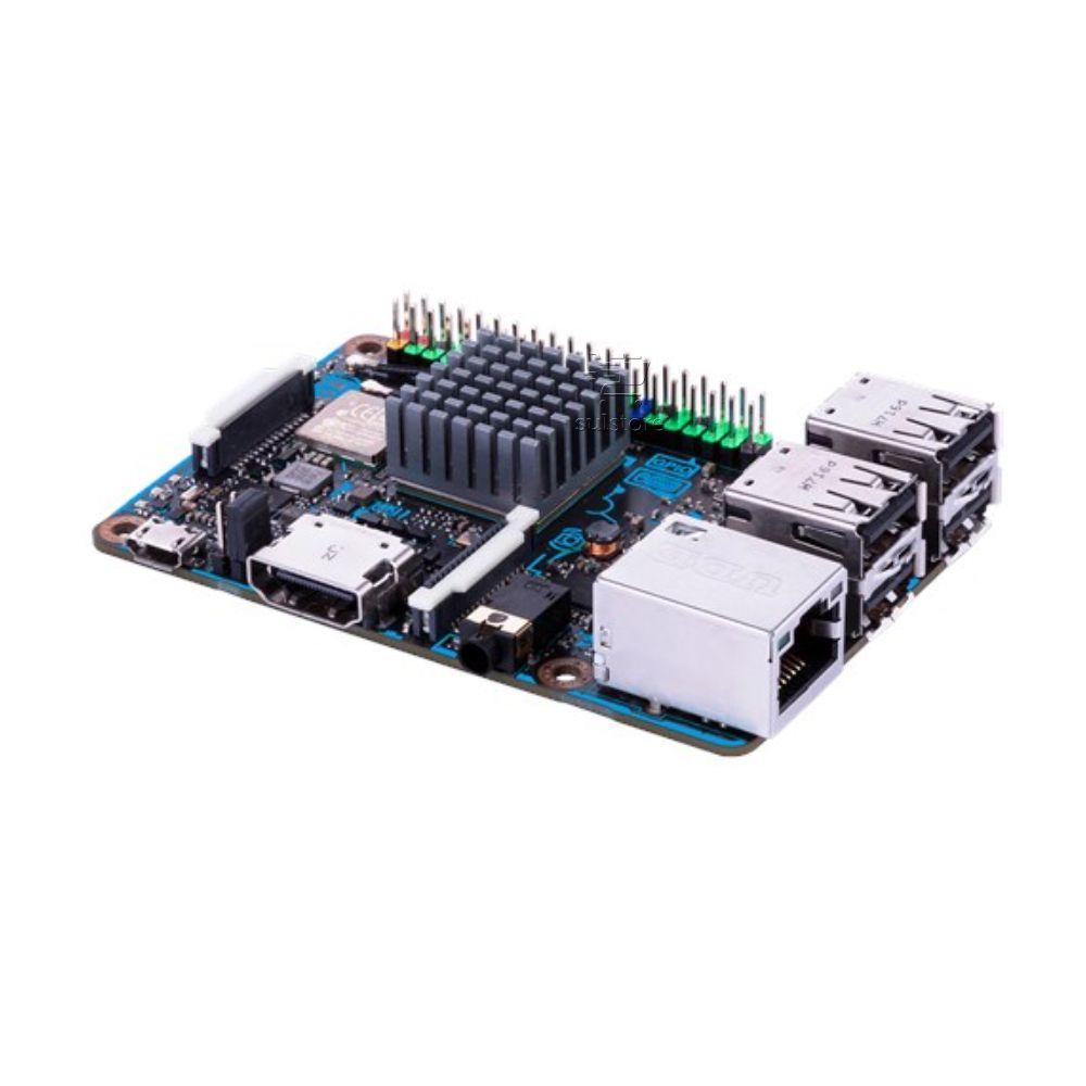 Asus Tinker R/BR 2GB Gigabit 4K Placa Mãe Board 90ME00T0-C1BAY0 Igual a Raspberry PI