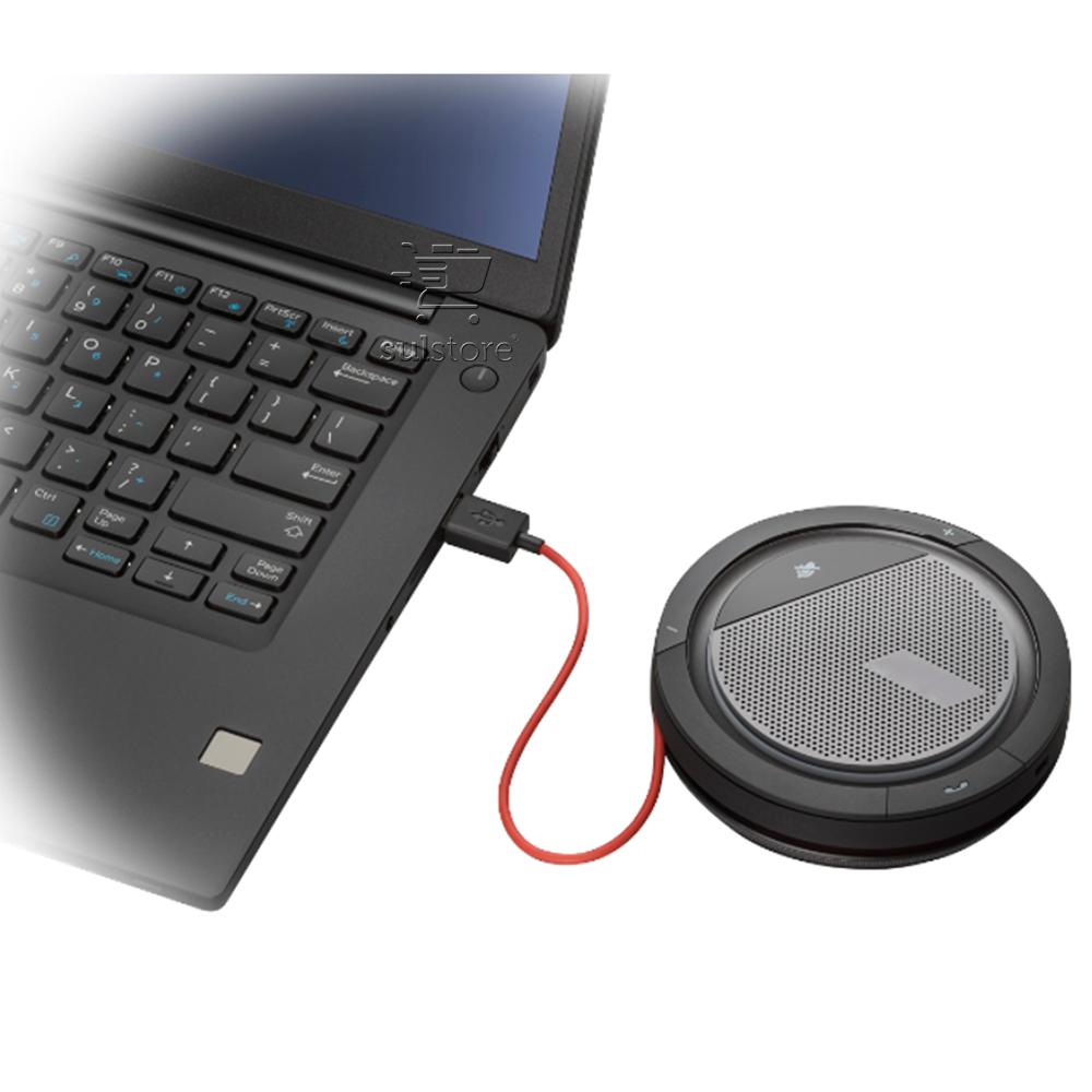 Áudio Conferencia Speakerphone Calisto 3200 Poly USB Alto Falante Plantronics e Polycom