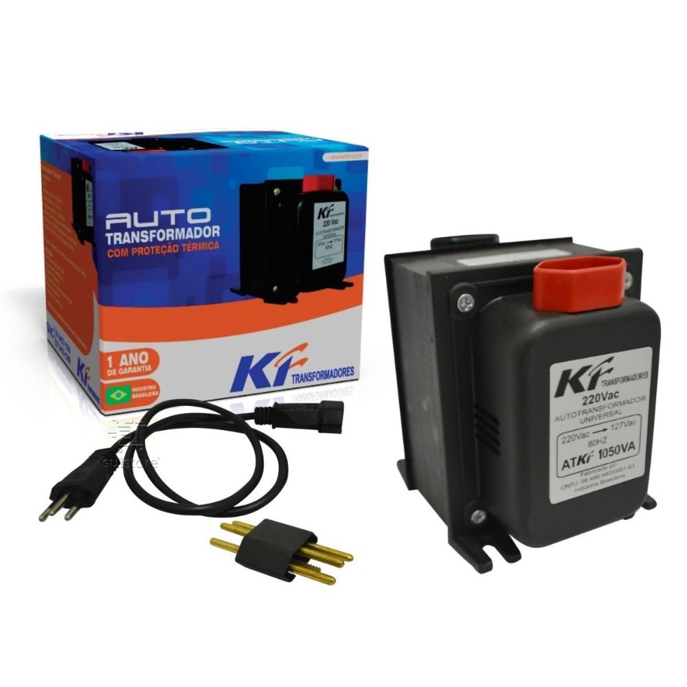 Auto Transformador 110 para 220 e 220 para 110 Trafo 1050Va de Energia 700W KF