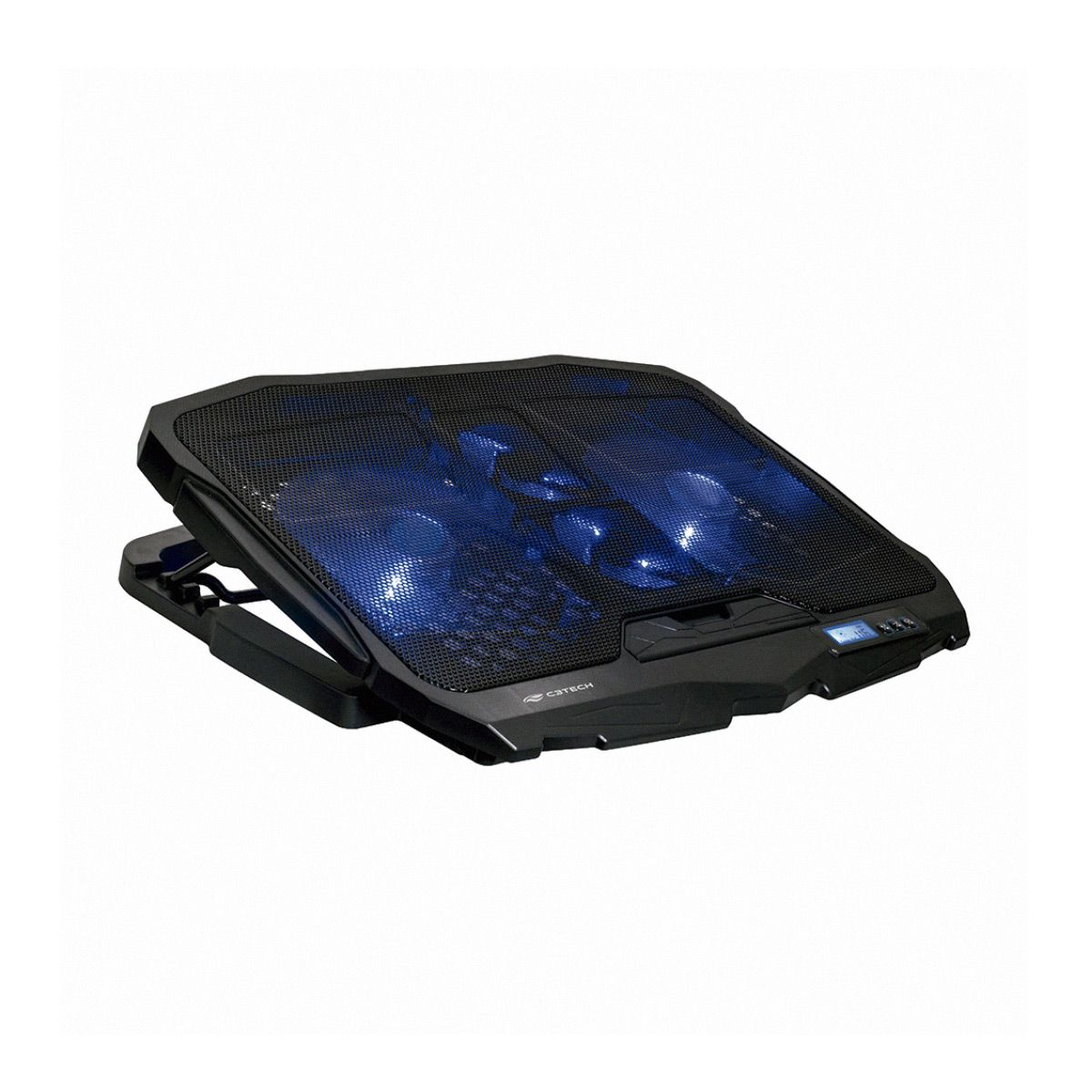 "Base para Notebook 17,3"" Gamer NBC-100BK C3 Tech Fan LED Azul"