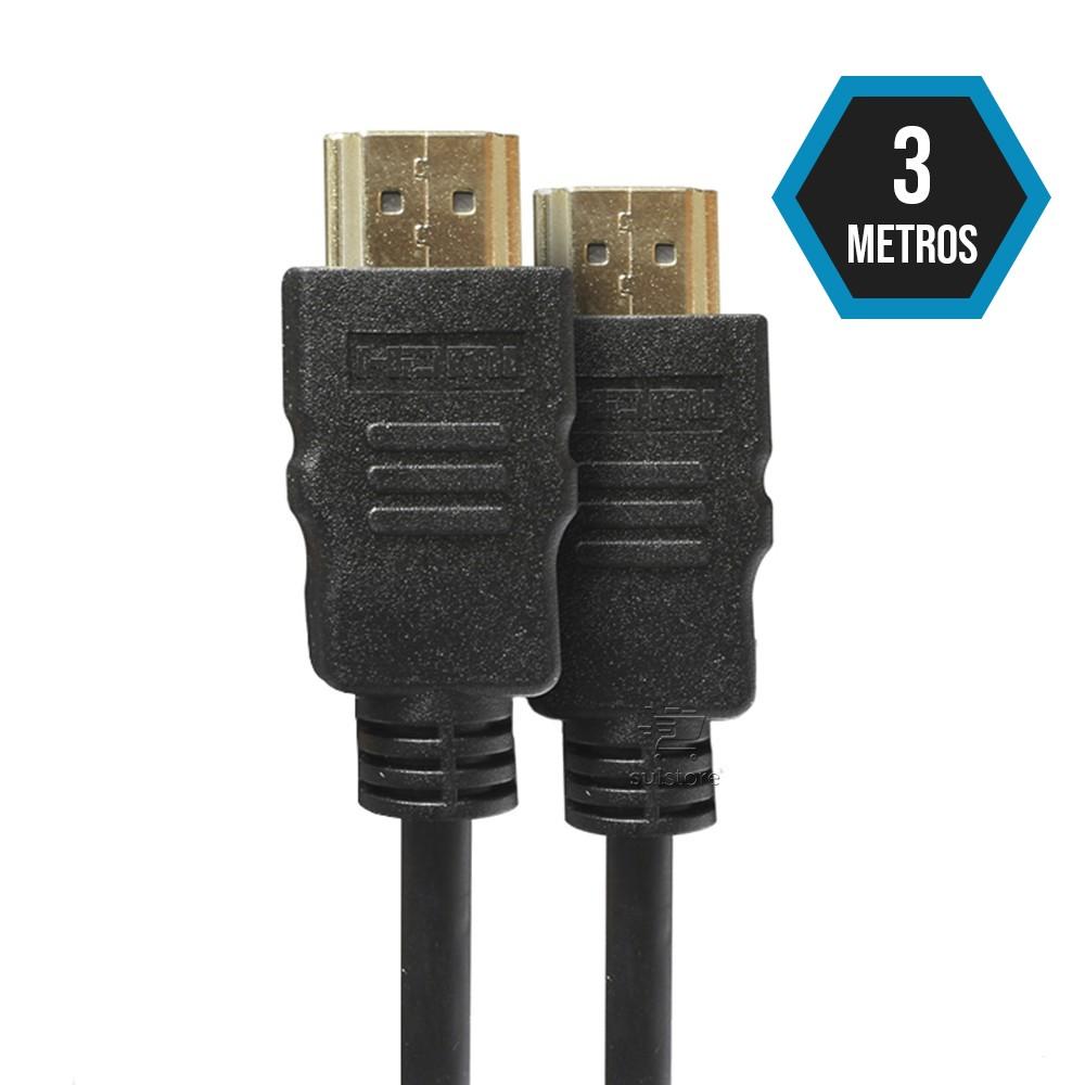 Cabo HDMI 3 Metros Versão 2.0 FULL HD 4K 3D READY PRO Eletronic CAHD-2030