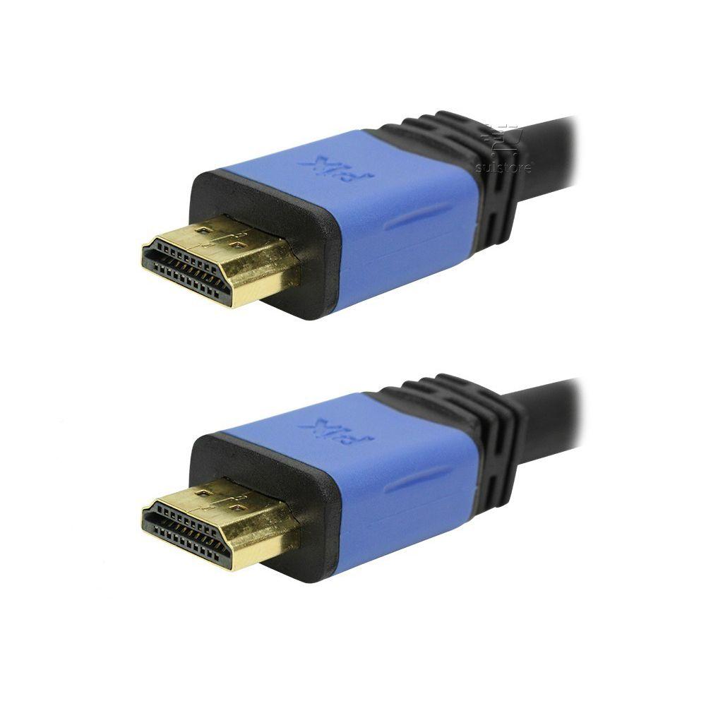 Cabo HDMI 5 Metros 2.0 4K Ultra HD 3D 19 Pinos Com Filtro 018-0520 Pix