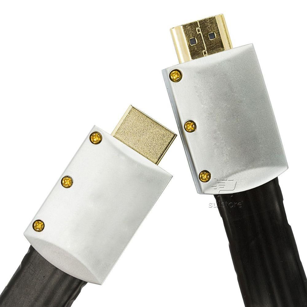 Cabo HDMI Desmontável 5 Metros Flat Slim 2.0 3D 4K Pix 018-9805