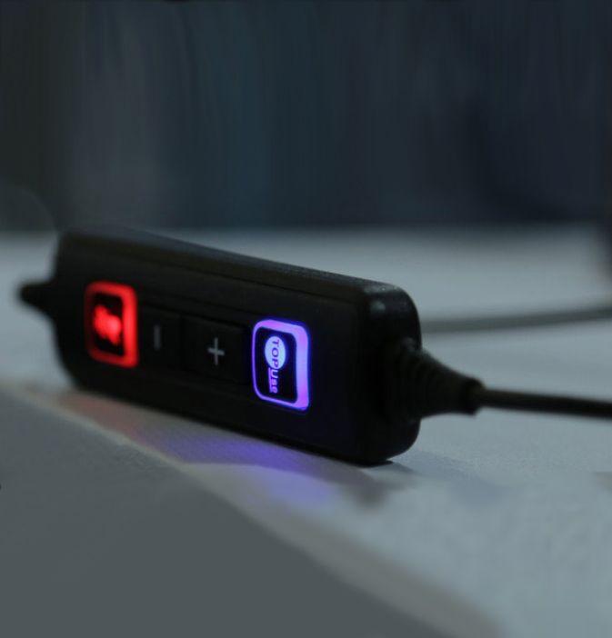 Cabo QD Quick Disconnect Para USB Controle de Volume e Mudo no Cabo TOP Use