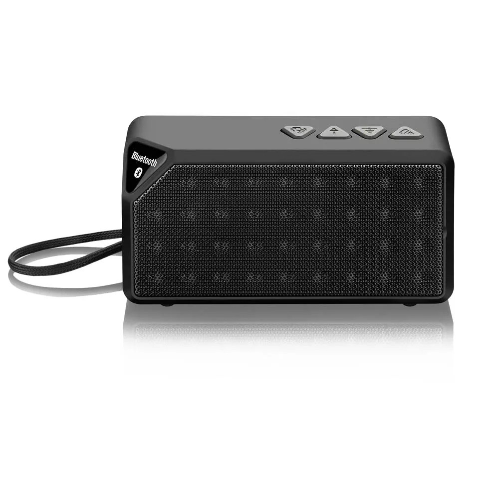 Caixa De Som Portátil Bluetooth 8W RMS Com Entrada Micro SD P2 Rádio Sp174 Multilaser