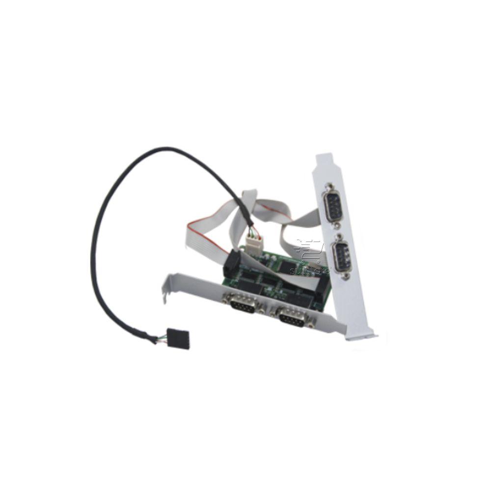 Conversor de USB Interno Para 4 Saídas Seriais SLIM RS232 Comm5 4S-USB-INT