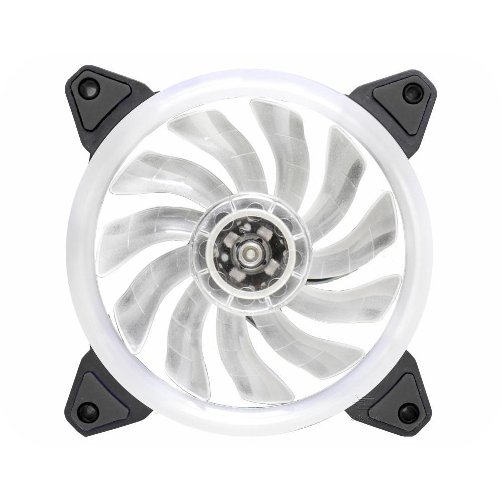 Cooler Gamer K-mex Double Ring AF-R1225 LED 5 Multicores 120mm