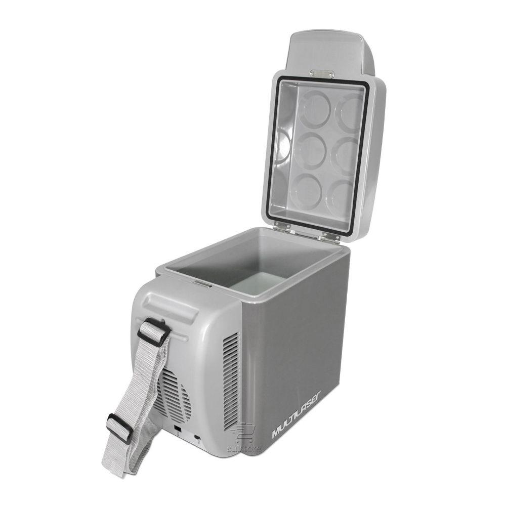 Cooler Mini Geladeira Portátil 7 Litros 12v Carro Caminhão Multilaser TV008
