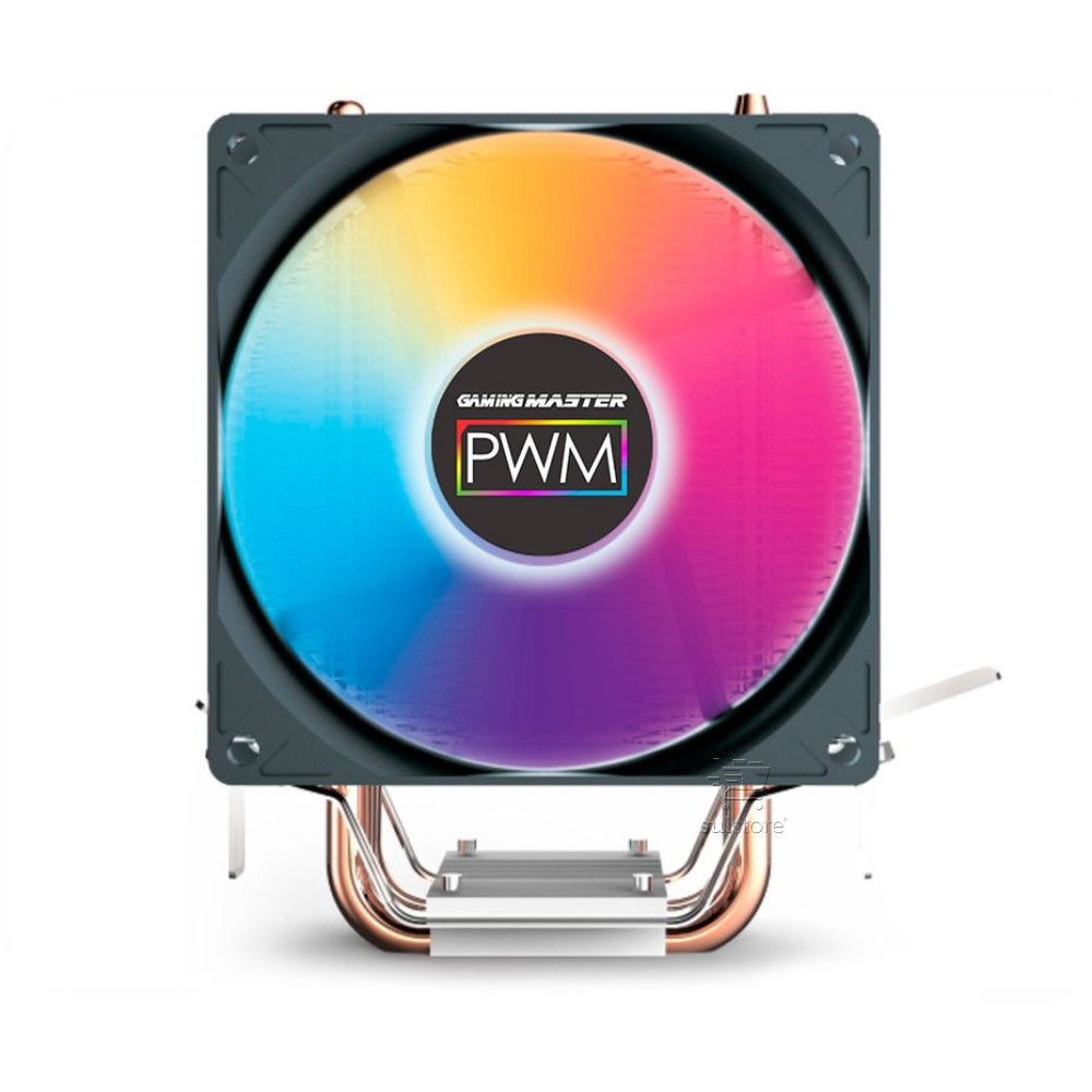 Cooler para Processador AMD e Intel RGB Multi Colorido Kmex AC01