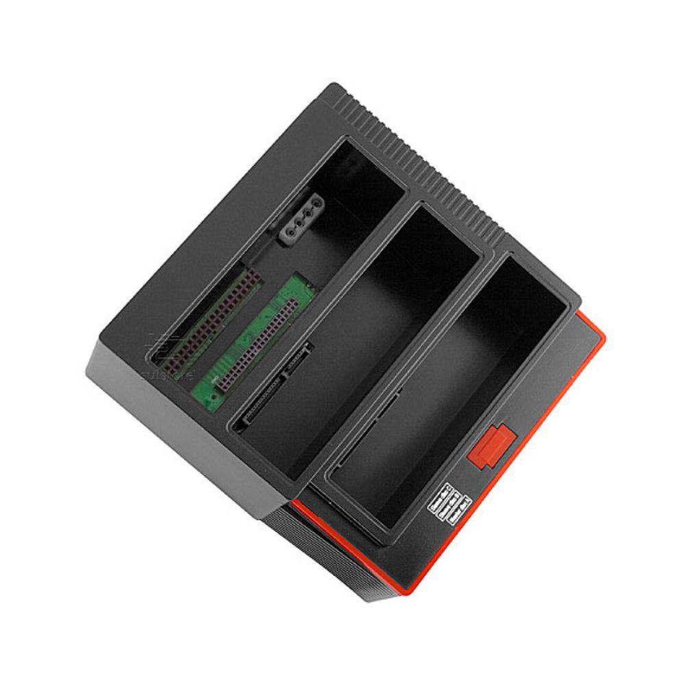 Dock Station Para 2 HD Sata e 1 IDE 2.5 ou 3.5 Triplo USB 3.0 F3 253