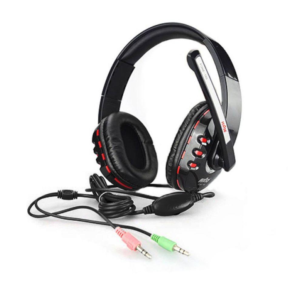 Fone de Ouvido Headphone Gamer 40mm Com Microfone P2 Fone-160 Feasso