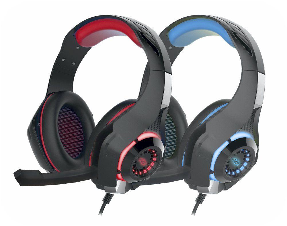 Fone de Ouvido Headset Gamer USB 40mm Com Microfone Kmex AR-S406