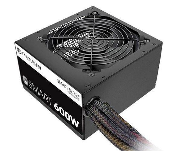 Fonte ATX 600W Thermaltake 80 Plus White Para PC Smart Series SPD-0600P