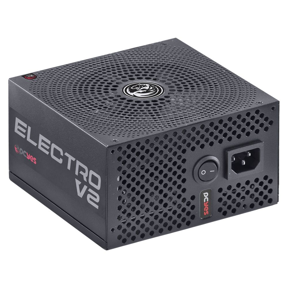 Fonte PCYES Electro V2 550w 80 Plus Bronze PFC Ativo ELECV2PTO550W