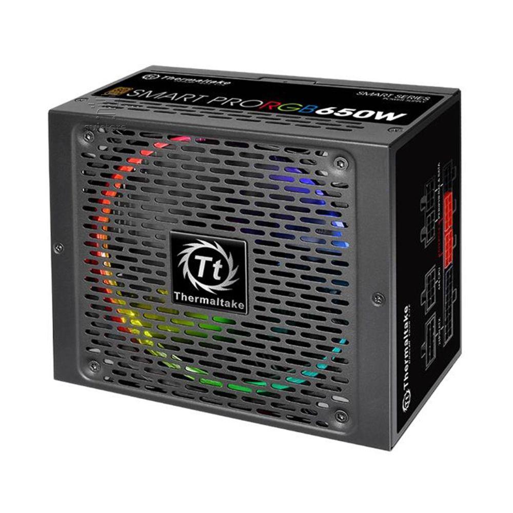 Fonte Thermaltake 650w Smart Pro RGB 80 Bronze Modular PFC