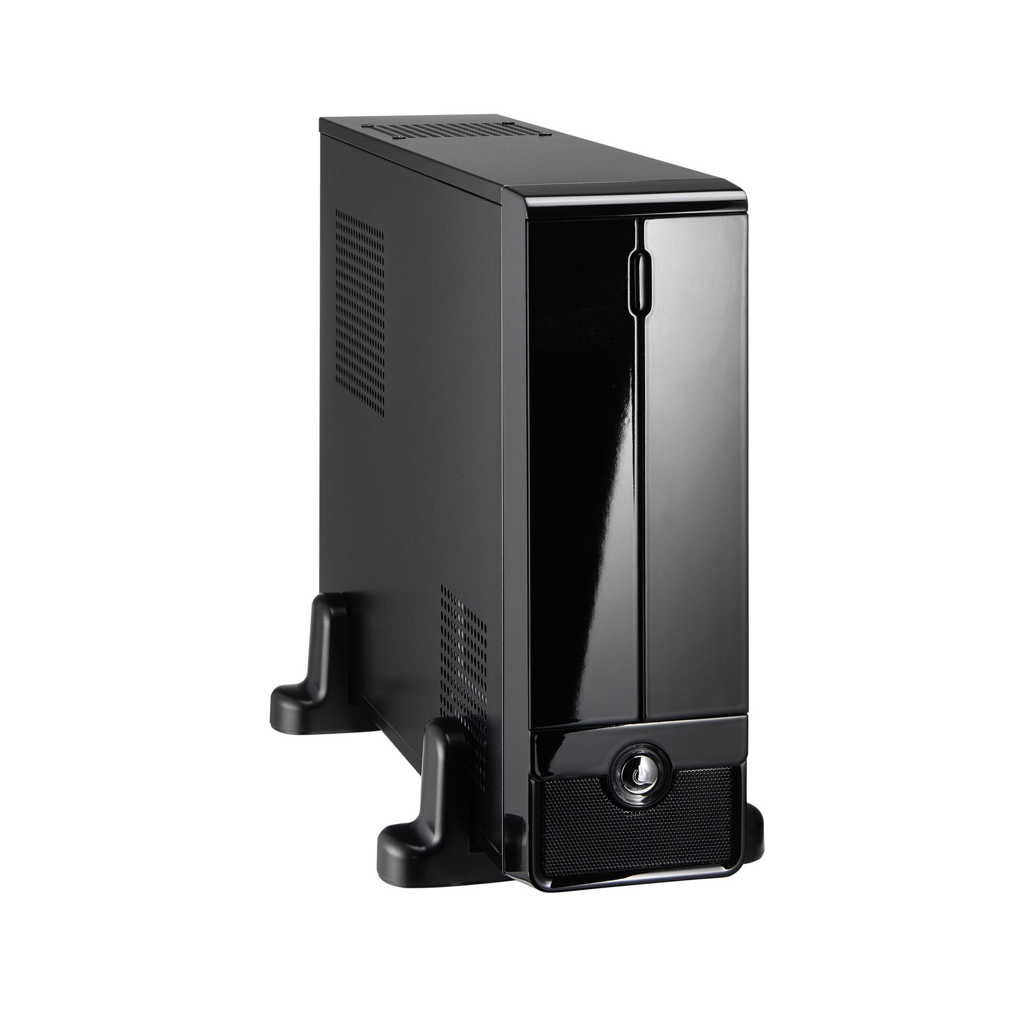 Gabinete Micro ATX ITX Mini Pc Slim Com Fonte 250w Kmex CM-9F8A Preto Piano