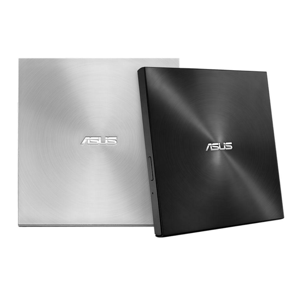 Gravador e Leitor de CD e DVD Slim Externo USB E USB Type C Asus ZenDrive SDRW-08U9M-U