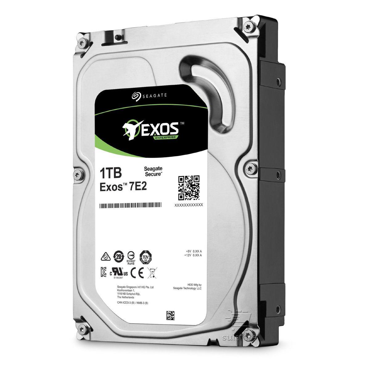 HD 1TB Sata Seagate Exos Enterprise Servidor 3,5 24x7 ST1000NM0008