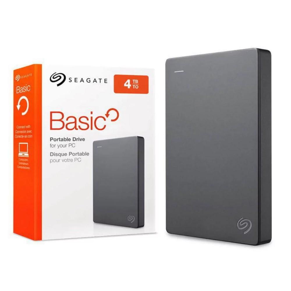HD Externo Portátil 4TB Seagate Basic STJL4000400 2URAP2-570