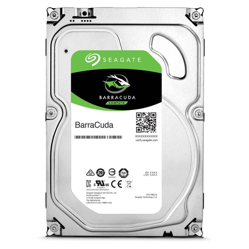 HD Seagate 2TB SATA 3,5 BarraCuda 7200RPM 64MB Cache 6Gb/s ST2000DM006