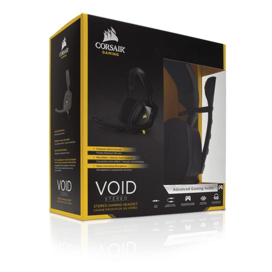Headset Gamer Corsair Void 2.0 Stereo Preto 50mm P2 CA-9011131-Na