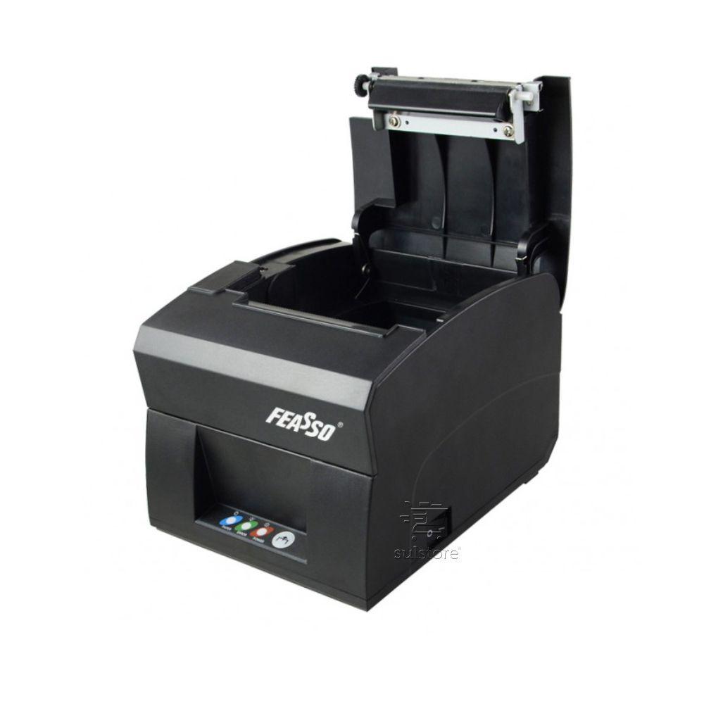 Impressora Térmica USB Serial RS232 Cupom Não Fiscal 80 Mm Bivolt Feasso F-IMTER02