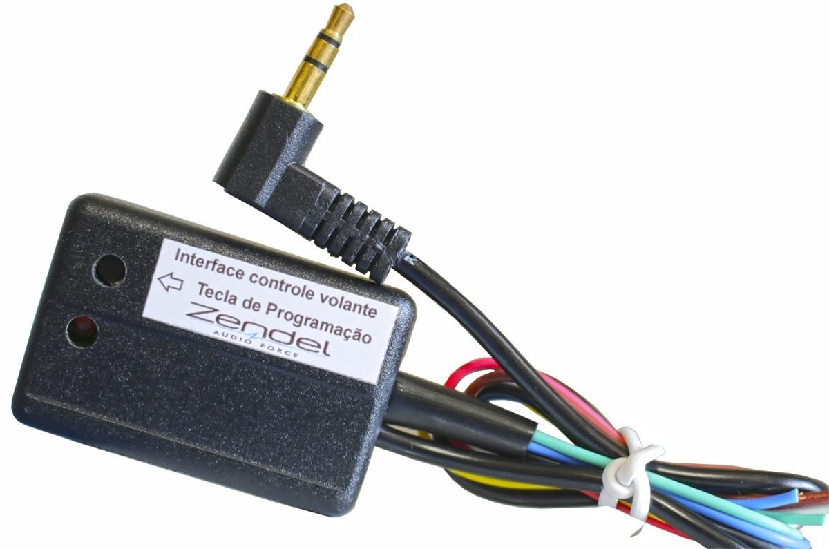 Interface Controle de Volante Universal Zendel Hyundai Chevrolet Kia Toyota Nissan Ford Volkswagem e Mais