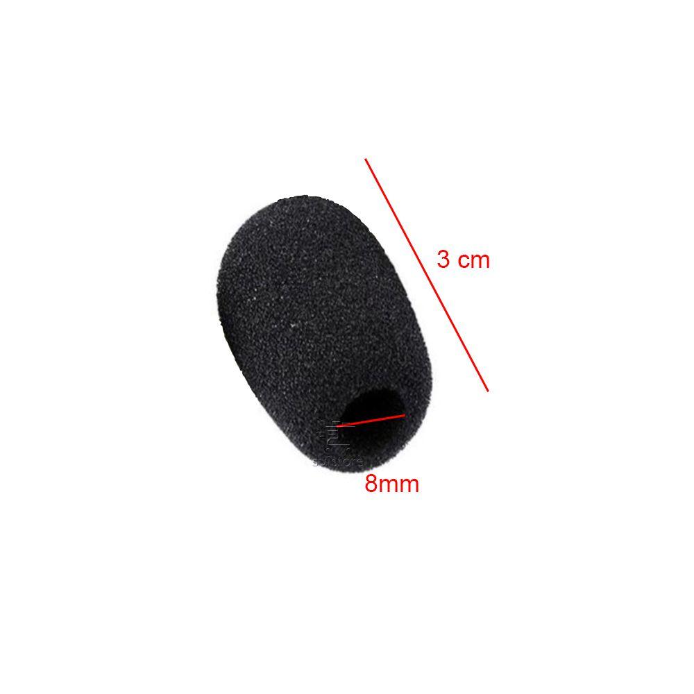 KIT 10 Protetor Bocal Microfone Espuma Para Headset Intelbras Top Use ESP09