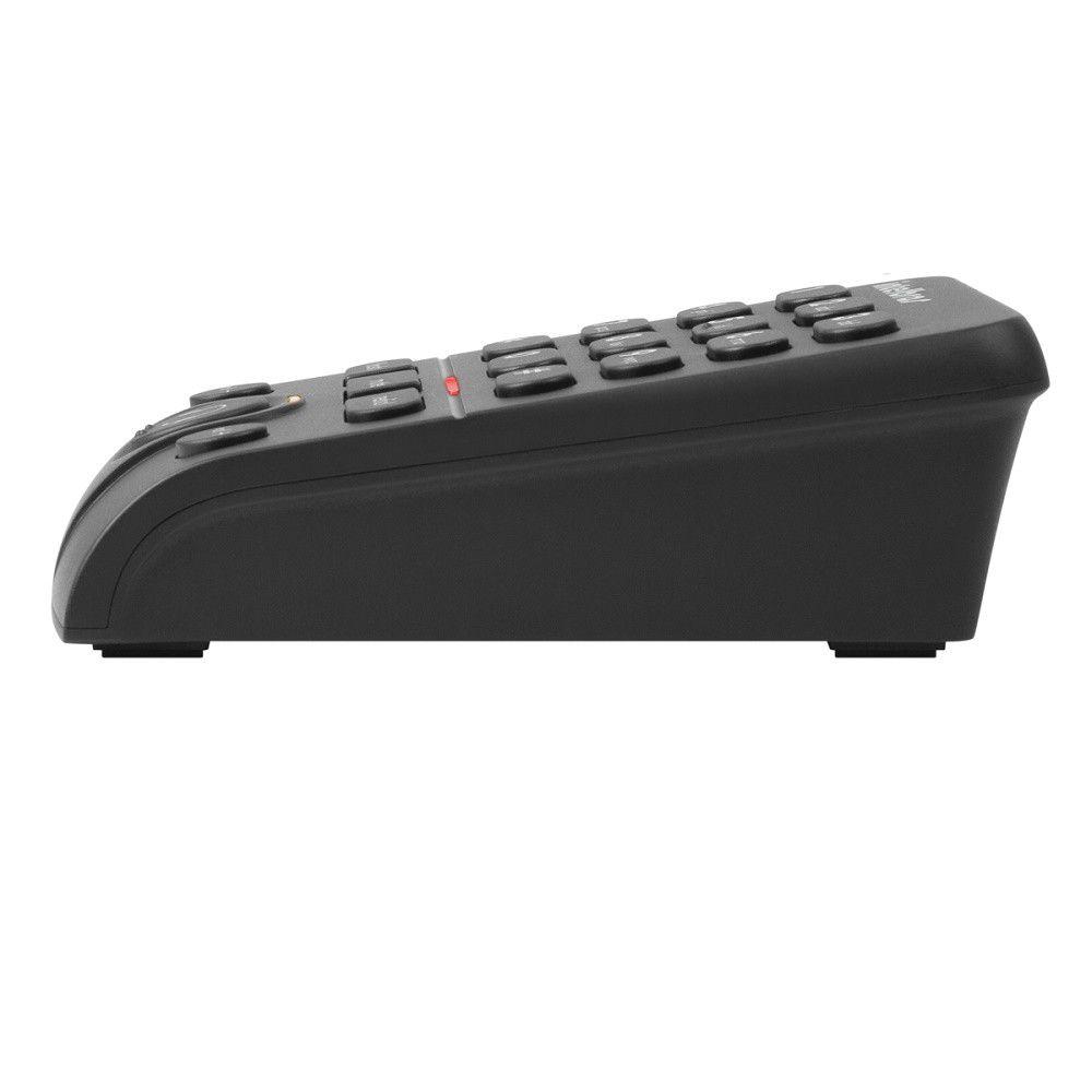 Kit Base Discadora BDI 10 Intelbras + Headset Mono Auricular RJ9 Top Use