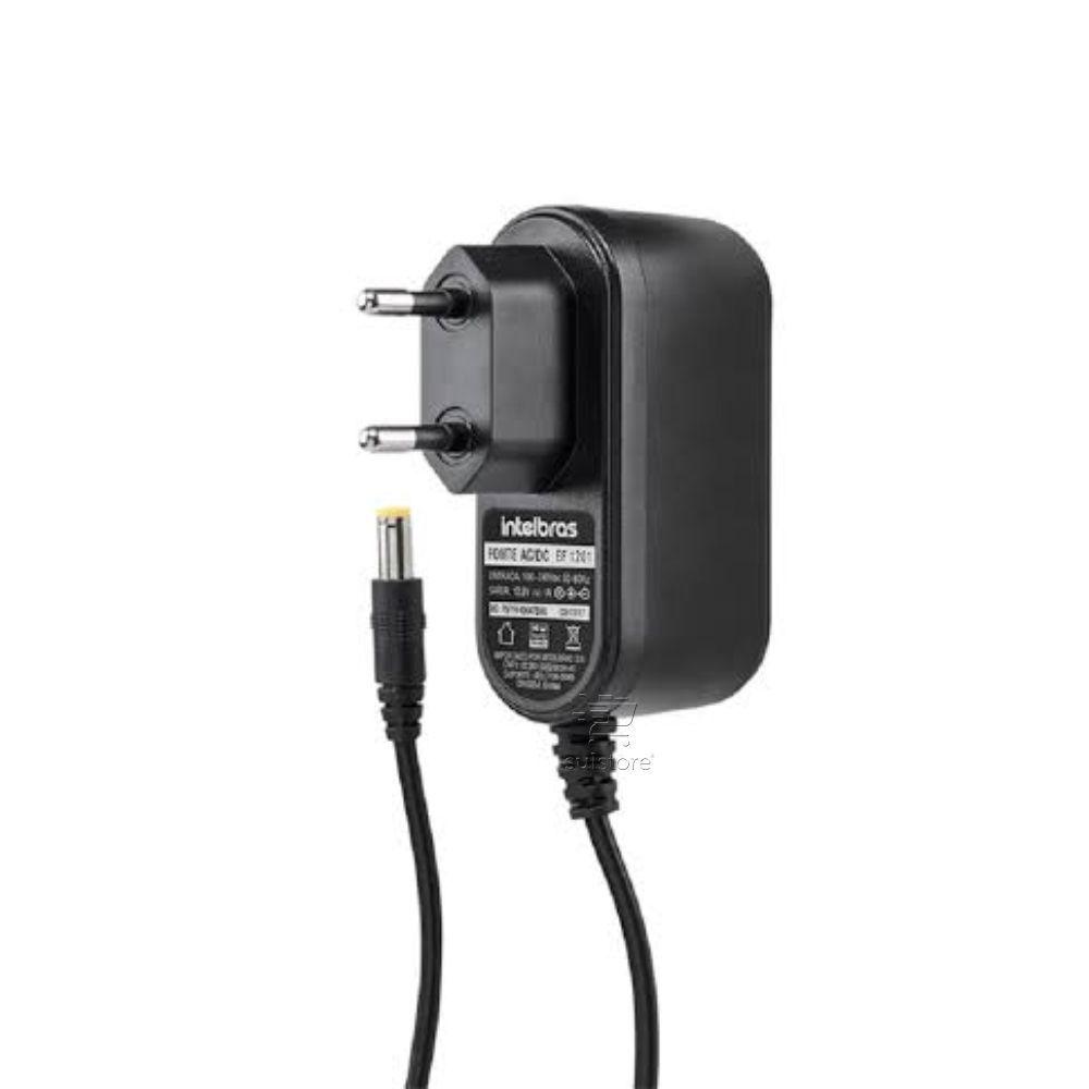 Kit Camera IP Vip S3330 G2 30mts + Fonte Alimentação Camera CFTV Bivolt Intelbras