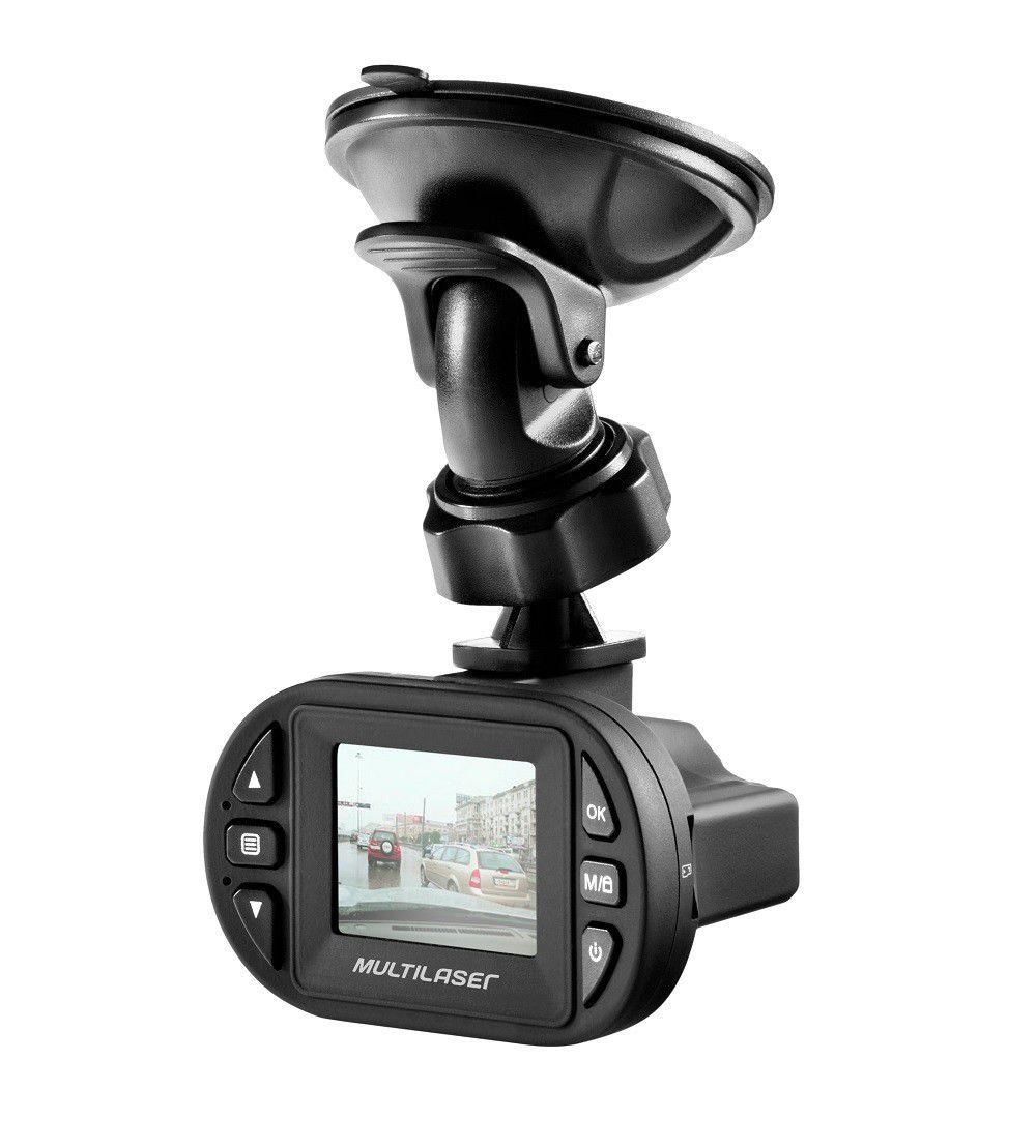 Kit Câmera Veicular Full HD Multilaser AU013 + Cartão de Memória Micro SD 32GB Classe 10