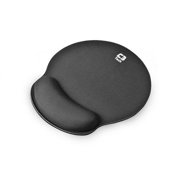 Kit Mouse Pad com Apoio em Gel MP-100 e Apoio de Punho Para Teclado KP-100 C3Tech