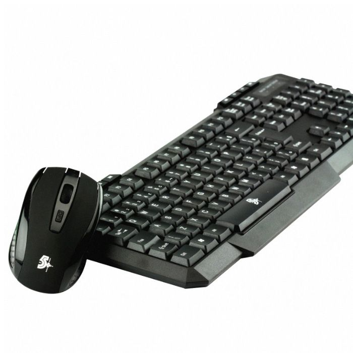 Kit Teclado e Mouse Sem Fio Wireless 2.4Ghz Multimídia CHIP SCE 015-0018
