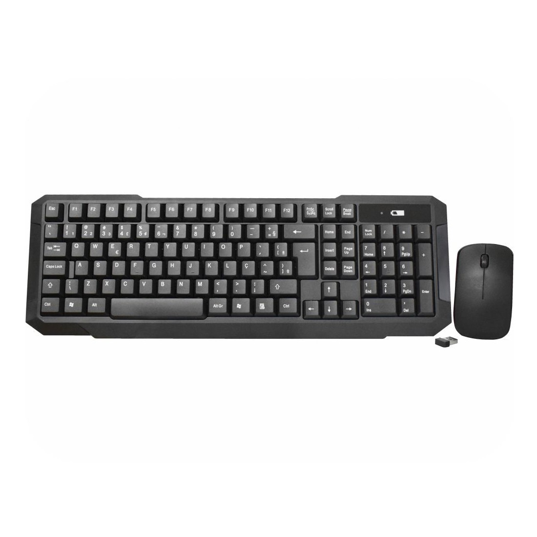 KIT Teclado e Mouse Wireless Sem Fio KA-S228 MA-B333 Kmex 2.4Ghz