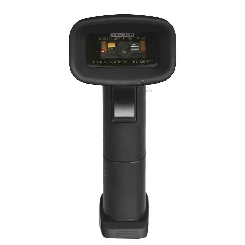 Leitor de QR Code Código de Barras Sem Fio Wireless F-COD33 Feasso