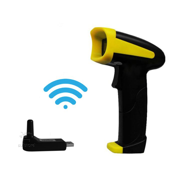 Leitor e Coletor Código de Barras Laser Sem Fio Wireless F-COD26 Feasso