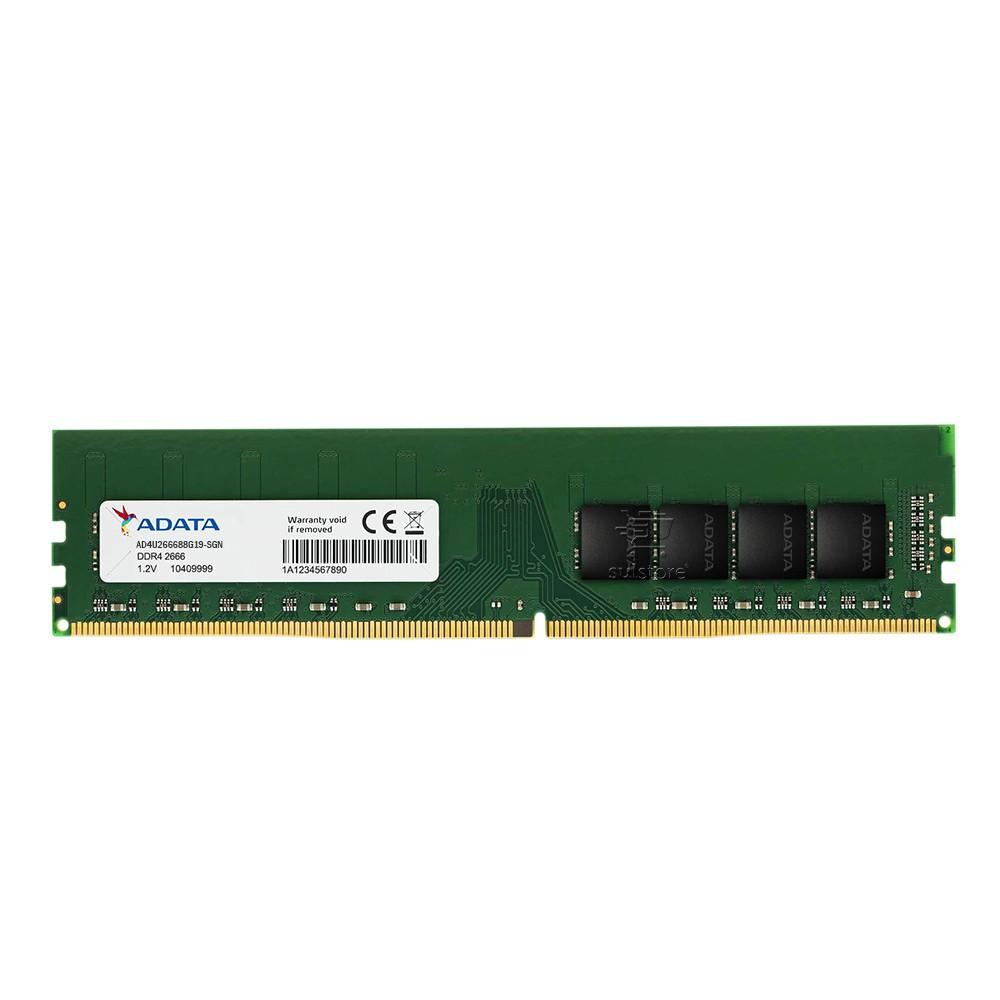Memoria 8GB DDR4 2666MHZ PC4-21300 Adata AD4U266688G19-SGN UDIMM Para Computador Desktop