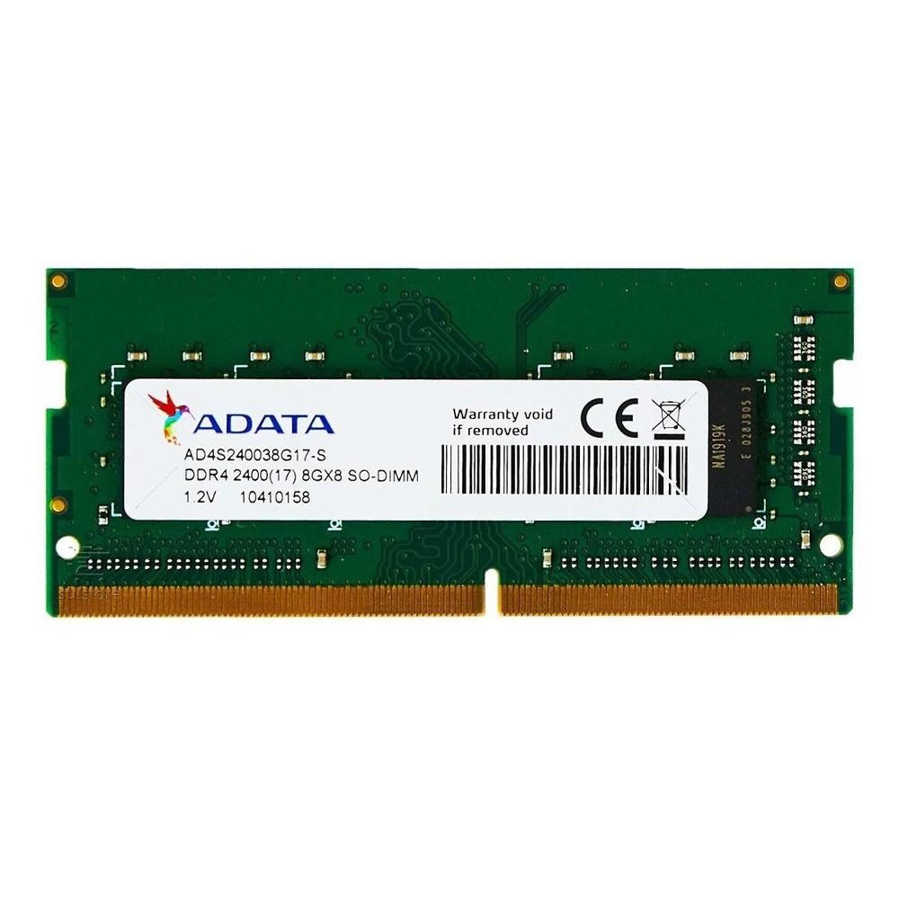 Memória Adata 8GB 2400mhz DDR4 AD4S240038G17S para Notebook